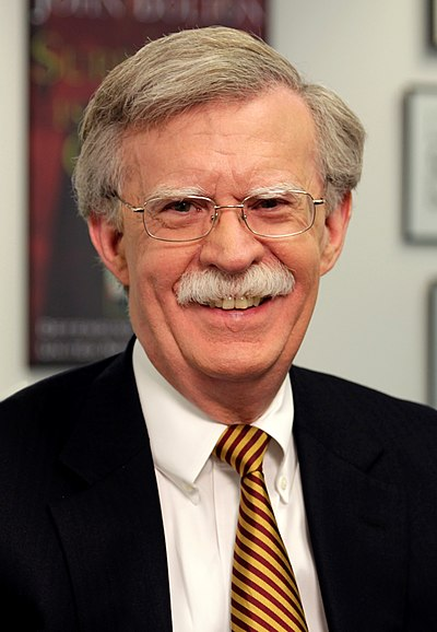 John Bolton, 27th United States National Security Advisor, lawyer, and diplomat