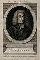 John Ray. Line engraving after W. Faithorne. Wellcome V0004936ER.jpg