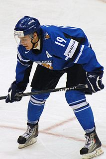 Joonas Rask Finnish ice hockey player