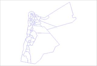 Districts of Jordan