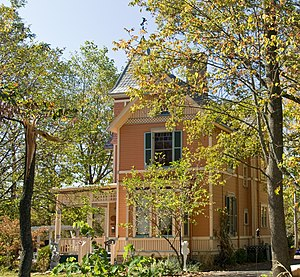 National Register of Historic Places listings in Hamilton County, Ohio - Image: Joseph W Baldwin House LR