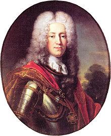 Ferdinand von Plettenberg um 1721/22, Ölgemälde von Joseph Vivien (Quelle: Wikimedia)