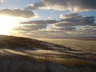 Juist - Juist beach in winter