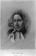 Julia Ward Howe from a photograph by J.J. Hawes - CAP sc ; engraved by C.A. Powell. LCCN2009632078.jpg