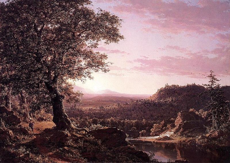 File:July Sunset, Berkshire County, Massachusetts.jpg