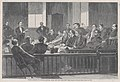 Jurors Listening to Counsel, Supreme Court, New York City Hall, New York – Drawn by Winslow Homer (Harper's Weekly, Vol. VIII) MET DP875291.jpg