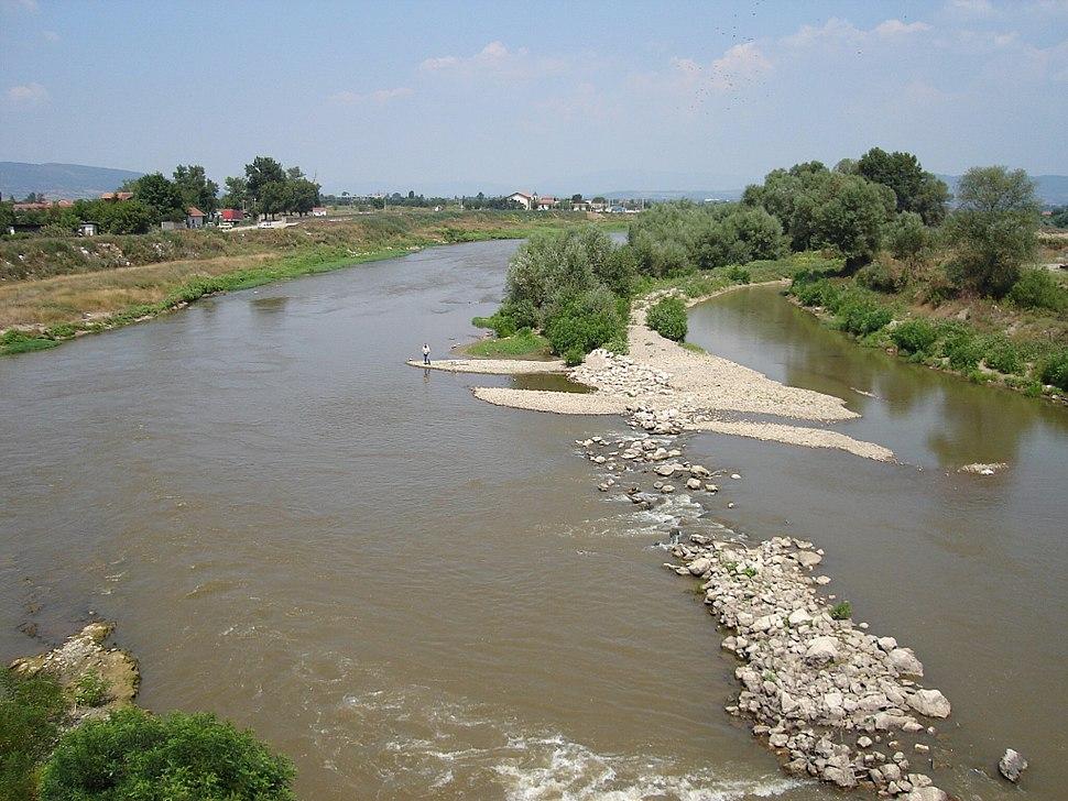 Die Südliche Morava bei Niš