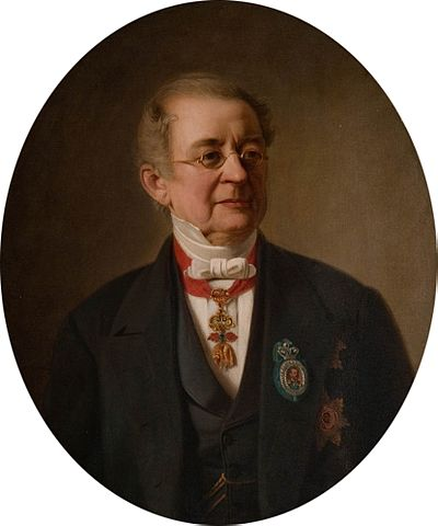 Йохан Кёлер «Портрет Светлейшего князя А.М.Горчакова», 1870—1880-е гг.