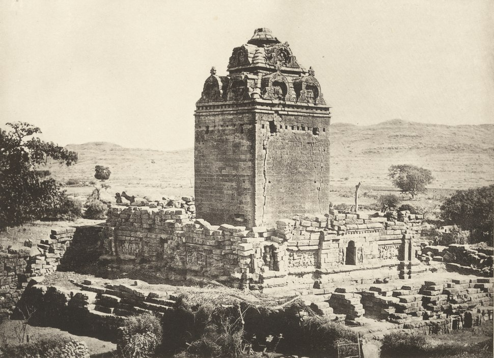 KITLV 88174 - Unknown - Temple at Kathiawad in British India - 1897