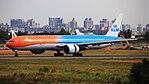 KLM Royal Dutch Airlines, Boeing 777-300ER, PH-BVA - TPE (36707812486).jpg