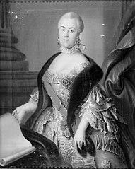 Carl Peter Ulricks gemalinde, Sofia Augusta. Katharina II af Rusland
