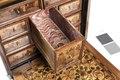 Kabinettskåp, detalj, 1600 - Hallwylska museet - 109830.tif