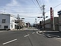 Kagoshima Prefectural Road 473 near Hayato Station.jpg