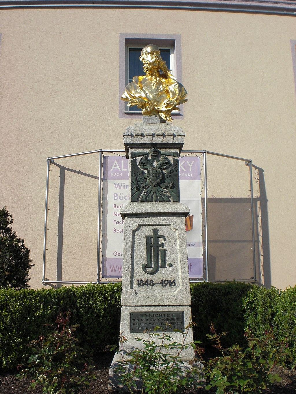 Gross-Enzersdorf Austria  city pictures gallery : ... emperor Franz Joseph I of Austria in Groß Enzersdorf, Lower Austria