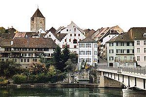 Kaiserstuhl, von der deutschen Seite des Rheins her gesehen