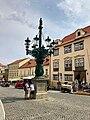 Kandelábr, Loretánská, Hradčany, Praha, Hlavní Město Praha, Česká Republika (48790889461).jpg