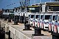 Karel Doorman, politieauto's en trucks voor Sint Maarten.jpg