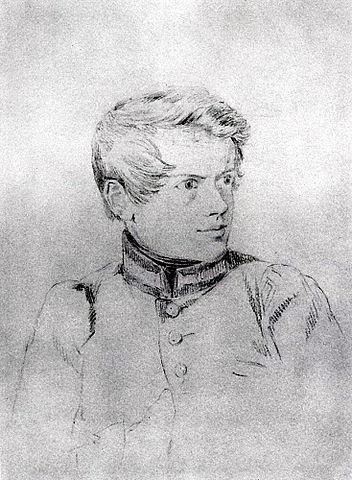 Карл Брюлло. Автопортрет. Ок. 1813—1816гг.
