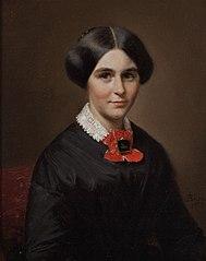 Portret van Elise Suzanne Marie Schmidt (1821-1893)