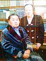 Karpek Kurmanov with his wife, Anipa. 2010.jpg