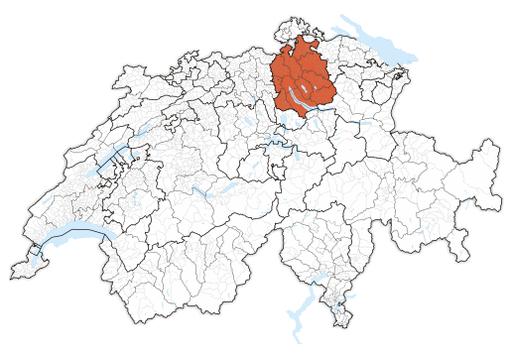 Karte Zürich 2017