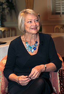 Kate Adie in 2017