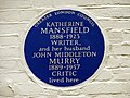 Katherine Mansfield and John Middleton Murry (4625055936).jpg