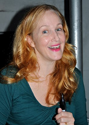 Katie Finneran - Finneran in Annie The Musical, October 2012