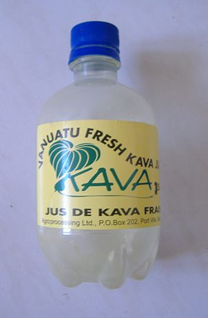 Commercial Kava beverage.