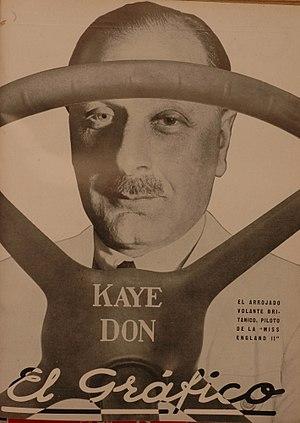Kaye Don - Kaye Don in 1931.