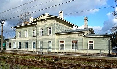 Kuidas ühistranspordiga sihtpunkti Keila raudteejaam jõuda - kohast