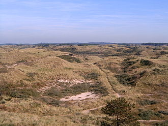 Kennemerland - The dunes of Kennemerland as they have been since the Kennemers lived there.