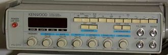 Function generator - A simple analog function generator, circa 1990