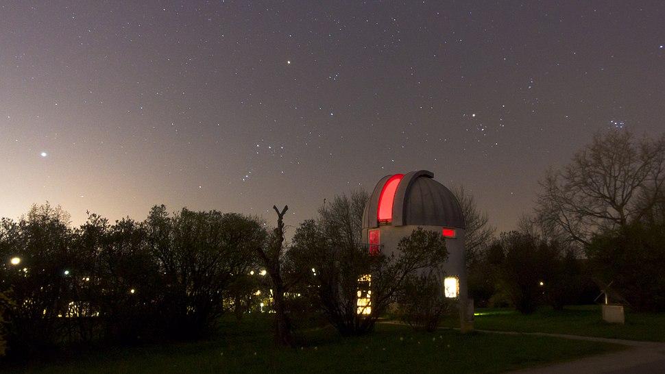 Kepler Observatory Linz under the Stars