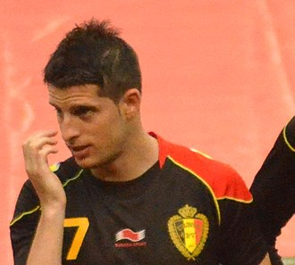 Kevin Mirallas - Mirallas with Belgium in 2013