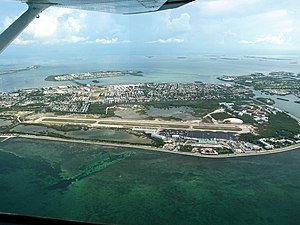 Key West International Airport - Aerial view of Key West International Airport