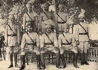Khaksars - Khaksars in uniform