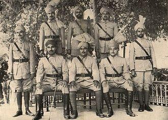 Khaksars - Khaksars in uniform