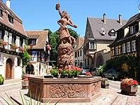 Kientzheim fontaine.JPG