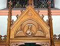Kierch Diddeleng, Beichtstull Kartusch-103.jpg