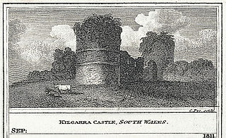 Kilgarra Castle, south Wales