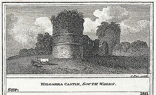 Kilgarra Castle, south Wales