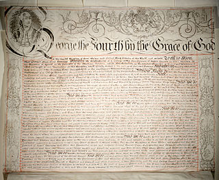 Royal charter document issued by a monarch, granting a right or power to an individual or organisation