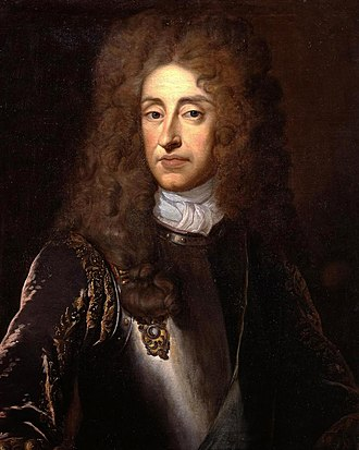Jacobite risings - Portrait of King James II by Sir Godfrey Kneller