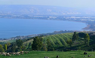 Sea of Galilee largest freshwater lake in Israel