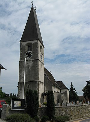Oftering - Image: Kirche in Oftering