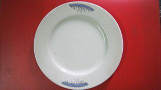 Kori Plate : dinner plates with sections - pezcame.com
