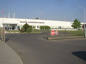 Showa Denko - Condensers for automobile air conditioners are manufactured in the Showa Aluminium Czech factory in Kladno, Czech Republic