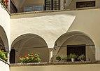 Klagenfurt Innere Stadt Wienergasse 10 Ossiacher Hof Arkadenhof 13082018 6166.jpg