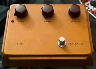 Klon Centaur guitar overdrive pedal